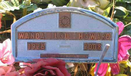 HOWARD, WANDA LOU - Lawrence County, Arkansas | WANDA LOU HOWARD - Arkansas Gravestone Photos