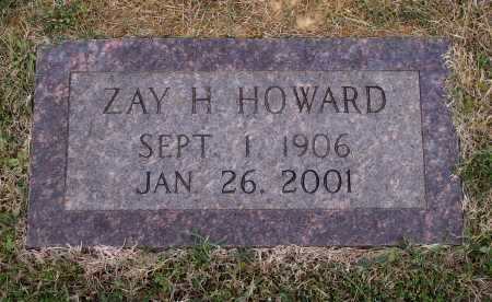 "HOWARD, ZAY ""BUBER"" - Lawrence County, Arkansas 