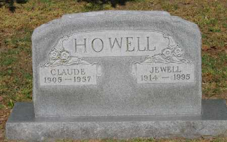 HOWELL, CLAUDE - Lawrence County, Arkansas | CLAUDE HOWELL - Arkansas Gravestone Photos