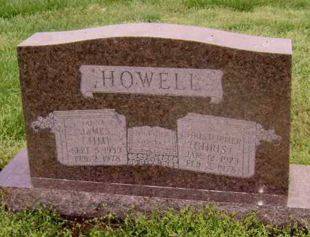 HOWELL, CHRISTOPHER - Lawrence County, Arkansas | CHRISTOPHER HOWELL - Arkansas Gravestone Photos