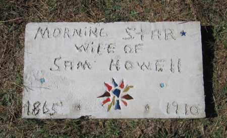 HOWELL, MORNING STAR - Lawrence County, Arkansas | MORNING STAR HOWELL - Arkansas Gravestone Photos