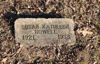HOWELL, SUSAN KATHLEEN - Lawrence County, Arkansas | SUSAN KATHLEEN HOWELL - Arkansas Gravestone Photos