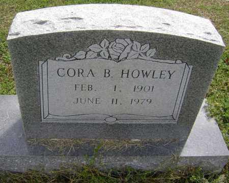 HOWLEY, CORA B. - Lawrence County, Arkansas | CORA B. HOWLEY - Arkansas Gravestone Photos