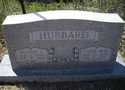 "HUBBARD, ALANZO ""LONNIE"" L - Lawrence County, Arkansas 