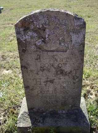 HUBBARD, INFANT SON - Lawrence County, Arkansas | INFANT SON HUBBARD - Arkansas Gravestone Photos
