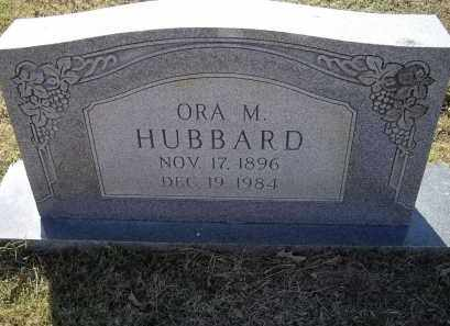 HUBBARD, ORA MAE - Lawrence County, Arkansas   ORA MAE HUBBARD - Arkansas Gravestone Photos