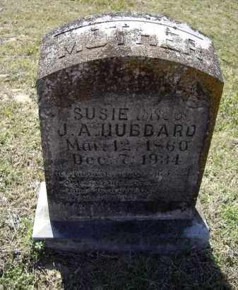 "HUBBARD, SUSAN E. ""SUSIE"" - Lawrence County, Arkansas | SUSAN E. ""SUSIE"" HUBBARD - Arkansas Gravestone Photos"