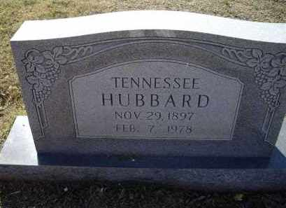 HUBBARD, TENNESSEE - Lawrence County, Arkansas | TENNESSEE HUBBARD - Arkansas Gravestone Photos