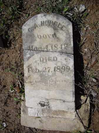 HUBBLE (VETERAN CSA), C. A. - Lawrence County, Arkansas | C. A. HUBBLE (VETERAN CSA) - Arkansas Gravestone Photos