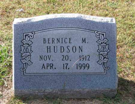 HUDSON, BERNICE MARIE - Lawrence County, Arkansas | BERNICE MARIE HUDSON - Arkansas Gravestone Photos