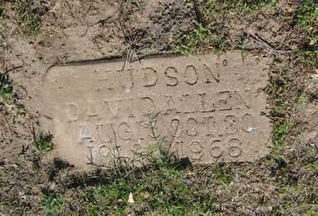HUDSON, DAVID ALLEN - Lawrence County, Arkansas | DAVID ALLEN HUDSON - Arkansas Gravestone Photos