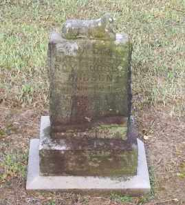 HUDSON, EMMA DEAN - Lawrence County, Arkansas | EMMA DEAN HUDSON - Arkansas Gravestone Photos