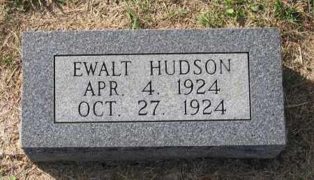 HUDSON, EWALT LAVON - Lawrence County, Arkansas | EWALT LAVON HUDSON - Arkansas Gravestone Photos