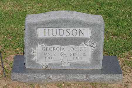HUDSON, GEORGIA LOUISE - Lawrence County, Arkansas | GEORGIA LOUISE HUDSON - Arkansas Gravestone Photos