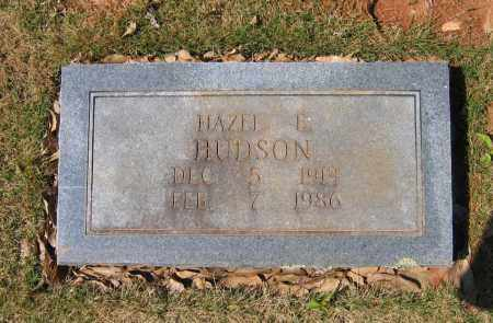 HUDSON, HAZEL E. - Lawrence County, Arkansas | HAZEL E. HUDSON - Arkansas Gravestone Photos
