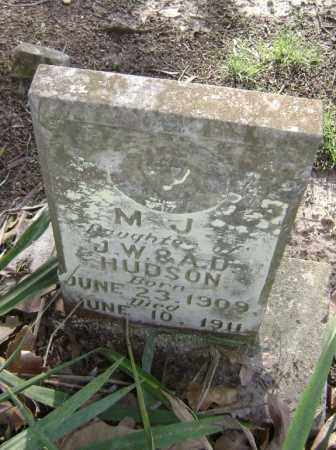 HUDSON, MARY JENTRY  (M. J) - Lawrence County, Arkansas | MARY JENTRY  (M. J) HUDSON - Arkansas Gravestone Photos