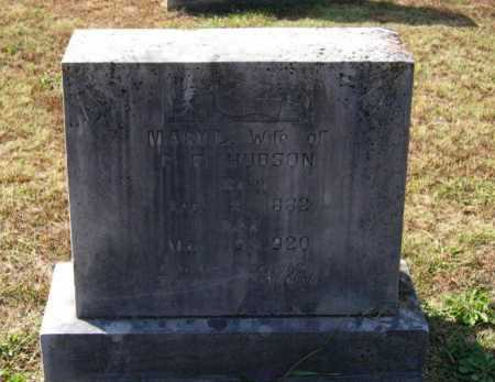 ADAMS HUDSON, MARY LEMENDA - Lawrence County, Arkansas   MARY LEMENDA ADAMS HUDSON - Arkansas Gravestone Photos