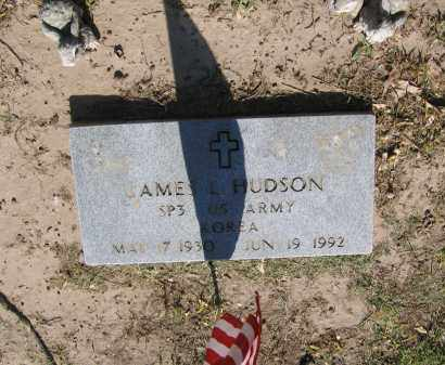 HUDSON (VETERAN KOR), JAMES L. - Lawrence County, Arkansas | JAMES L. HUDSON (VETERAN KOR) - Arkansas Gravestone Photos