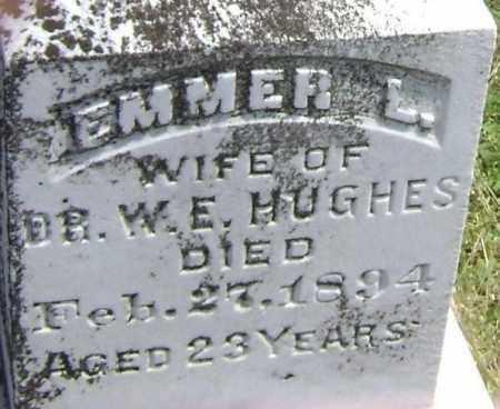 HUGHES, EMMER L. - Lawrence County, Arkansas | EMMER L. HUGHES - Arkansas Gravestone Photos