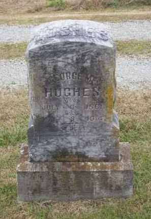 HUGHES, GEORGE M. - Lawrence County, Arkansas | GEORGE M. HUGHES - Arkansas Gravestone Photos
