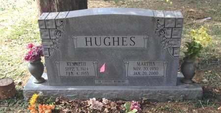 HUGHES, KENNETH LAMOND - Lawrence County, Arkansas | KENNETH LAMOND HUGHES - Arkansas Gravestone Photos