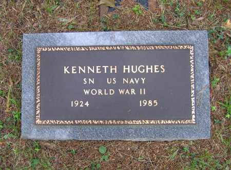 HUGHES (VETERAN WWII), KENNETH LAMOND - Lawrence County, Arkansas | KENNETH LAMOND HUGHES (VETERAN WWII) - Arkansas Gravestone Photos