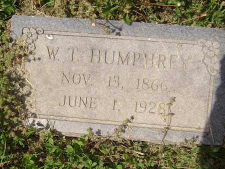 HUMPHREY, W. T. - Lawrence County, Arkansas | W. T. HUMPHREY - Arkansas Gravestone Photos