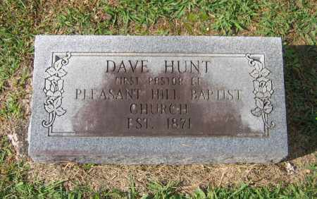 "HUNT, DAVID E. ""DAVE"" - Lawrence County, Arkansas 