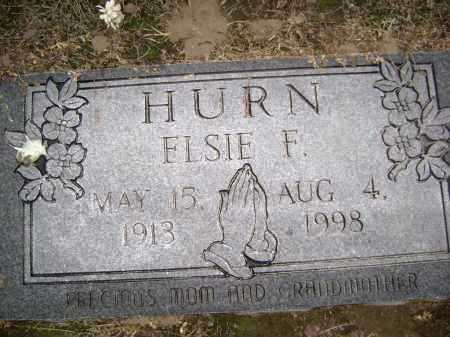 HURN, ELSIE FLORENE - Lawrence County, Arkansas | ELSIE FLORENE HURN - Arkansas Gravestone Photos