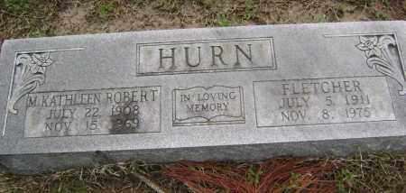 ROBERT HURN, MARY KATHLEEN - Lawrence County, Arkansas | MARY KATHLEEN ROBERT HURN - Arkansas Gravestone Photos