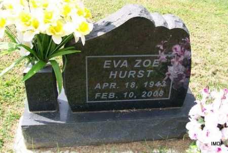HURST, EVA ZOE - Lawrence County, Arkansas | EVA ZOE HURST - Arkansas Gravestone Photos