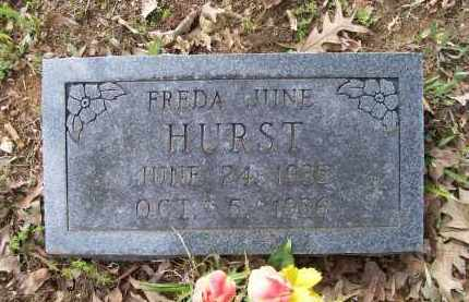 HURST, FREDA JUNE - Lawrence County, Arkansas | FREDA JUNE HURST - Arkansas Gravestone Photos