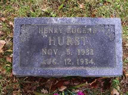 HURST, HENRY EUGENE - Lawrence County, Arkansas | HENRY EUGENE HURST - Arkansas Gravestone Photos