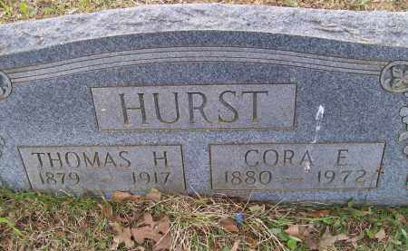 HURST, CORA E. - Lawrence County, Arkansas | CORA E. HURST - Arkansas Gravestone Photos