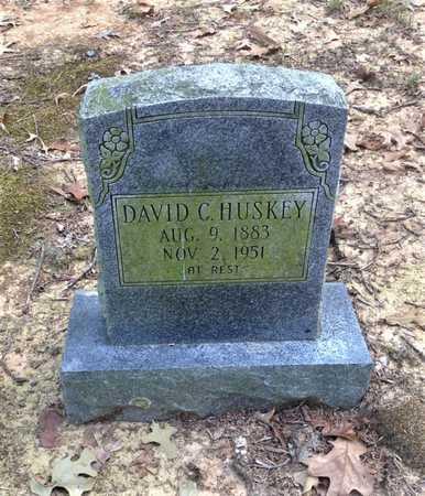 HUSKEY, DAVID CLINTON - Lawrence County, Arkansas | DAVID CLINTON HUSKEY - Arkansas Gravestone Photos