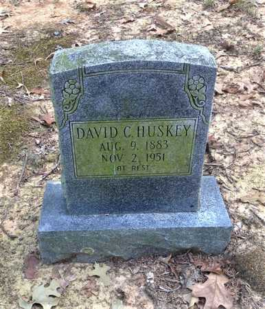 HUSKEY, DAVID CLINTON - Lawrence County, Arkansas | DAVID CLINTON HUSKEY - Arkansas Gravestone Photos