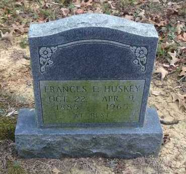 HUSKEY, FRANCES ELIZABETH - Lawrence County, Arkansas | FRANCES ELIZABETH HUSKEY - Arkansas Gravestone Photos