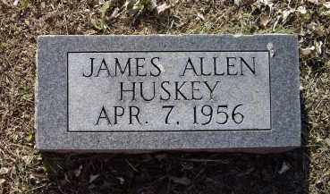 HUSKEY, JAMES ALLEN - Lawrence County, Arkansas | JAMES ALLEN HUSKEY - Arkansas Gravestone Photos