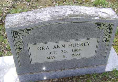HUSKEY, ORA ANN - Lawrence County, Arkansas | ORA ANN HUSKEY - Arkansas Gravestone Photos