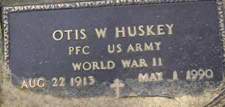 HUSKEY (VETERAN WWII), OTIS WILLIAM - Lawrence County, Arkansas | OTIS WILLIAM HUSKEY (VETERAN WWII) - Arkansas Gravestone Photos
