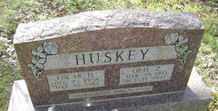 HUSKEY, OSCAR D. - Lawrence County, Arkansas | OSCAR D. HUSKEY - Arkansas Gravestone Photos