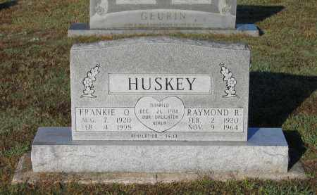 HUSKEY, RAYMOND R. - Lawrence County, Arkansas | RAYMOND R. HUSKEY - Arkansas Gravestone Photos