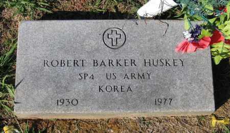 HUSKEY (VETERAN KOR), ROBERT BARKER - Lawrence County, Arkansas | ROBERT BARKER HUSKEY (VETERAN KOR) - Arkansas Gravestone Photos