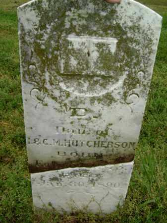 HUTCHERSON, D. - Lawrence County, Arkansas | D. HUTCHERSON - Arkansas Gravestone Photos