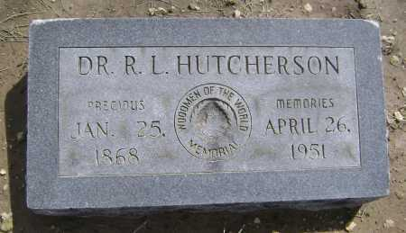 HUTCHERSON, MD, ROBERT LEE - Lawrence County, Arkansas | ROBERT LEE HUTCHERSON, MD - Arkansas Gravestone Photos