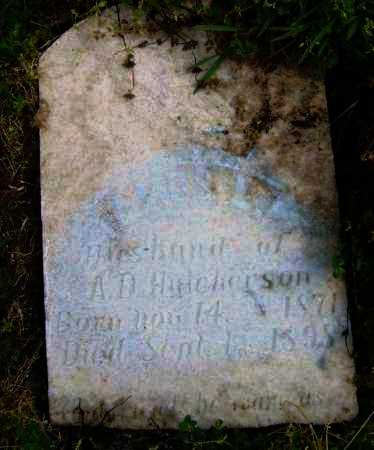 HUTCHERSON, JAMES L. - Lawrence County, Arkansas | JAMES L. HUTCHERSON - Arkansas Gravestone Photos