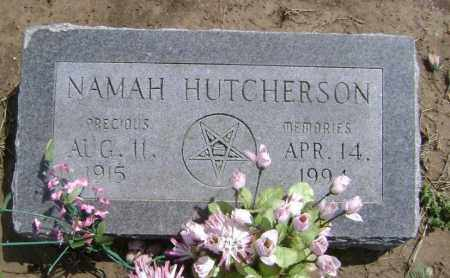 HUTCHERSON, NAMAH - Lawrence County, Arkansas | NAMAH HUTCHERSON - Arkansas Gravestone Photos