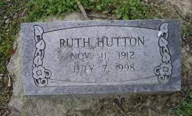 HUTTON, RUTH - Lawrence County, Arkansas | RUTH HUTTON - Arkansas Gravestone Photos