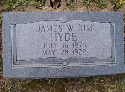"HYDE, JAMES WESLEY ""JIM"" - Lawrence County, Arkansas 