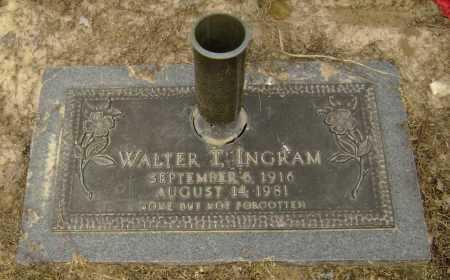INGRAM, WALTER TAYLOR - Lawrence County, Arkansas | WALTER TAYLOR INGRAM - Arkansas Gravestone Photos